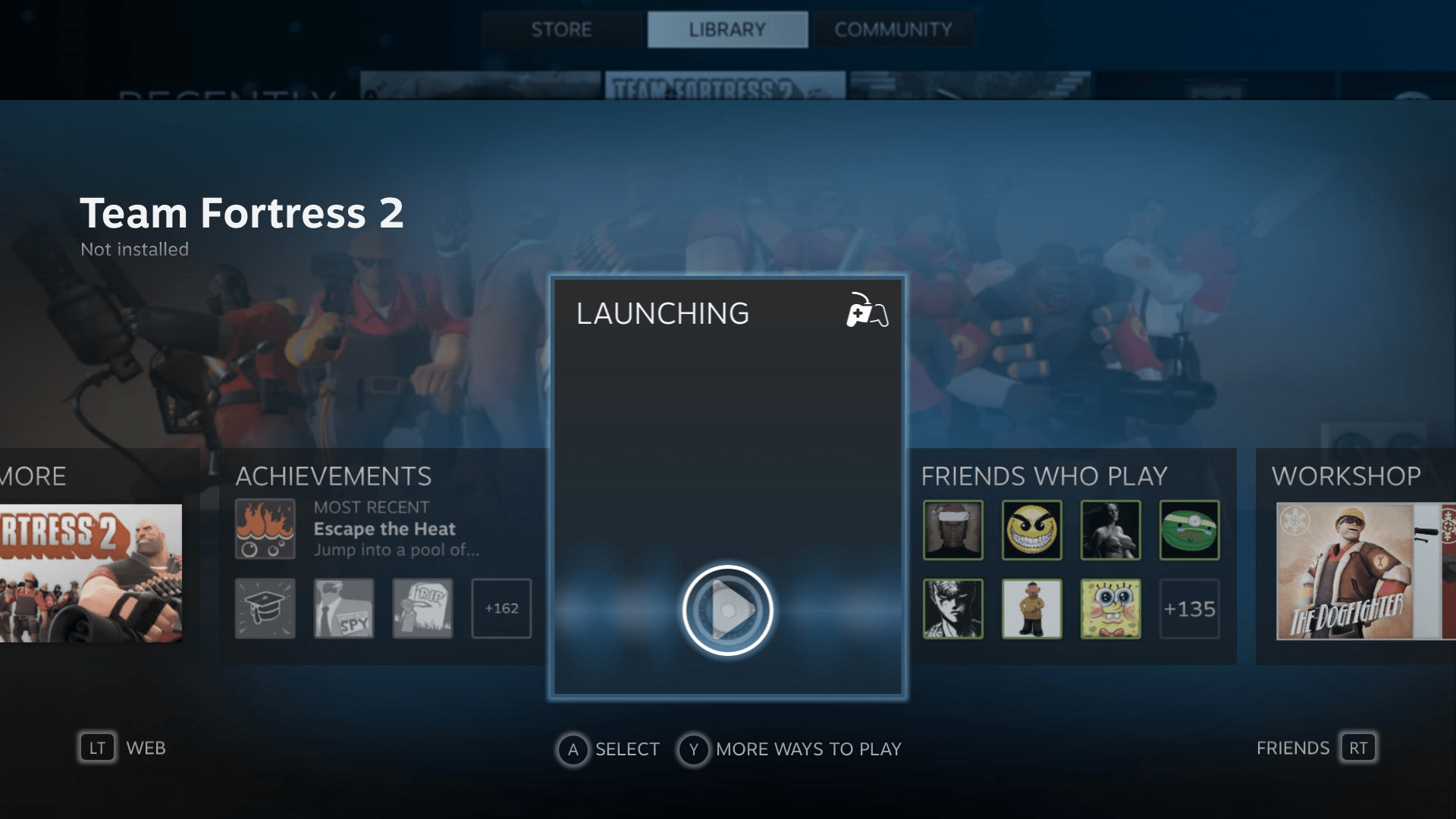 Uruchamianie gry na SteamOS