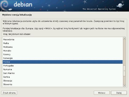 Instalator Debiana 6.0 Squeeze